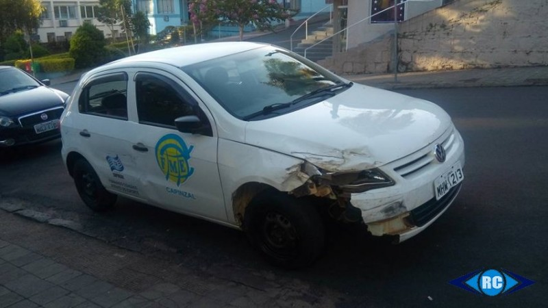 Veículo da Prefeitura de Capinzal que foi furtado