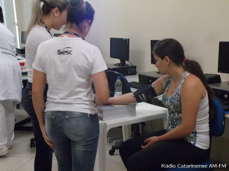 População marcou presença em mais uma edição do SESC Saúde