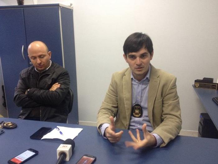 Delegado deu entrevista coletiva relatando o caso