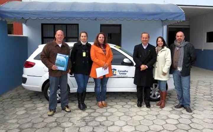 Deputado Jorginho Mello visitou praticamente todos os Conselhos Tutelares do Estado