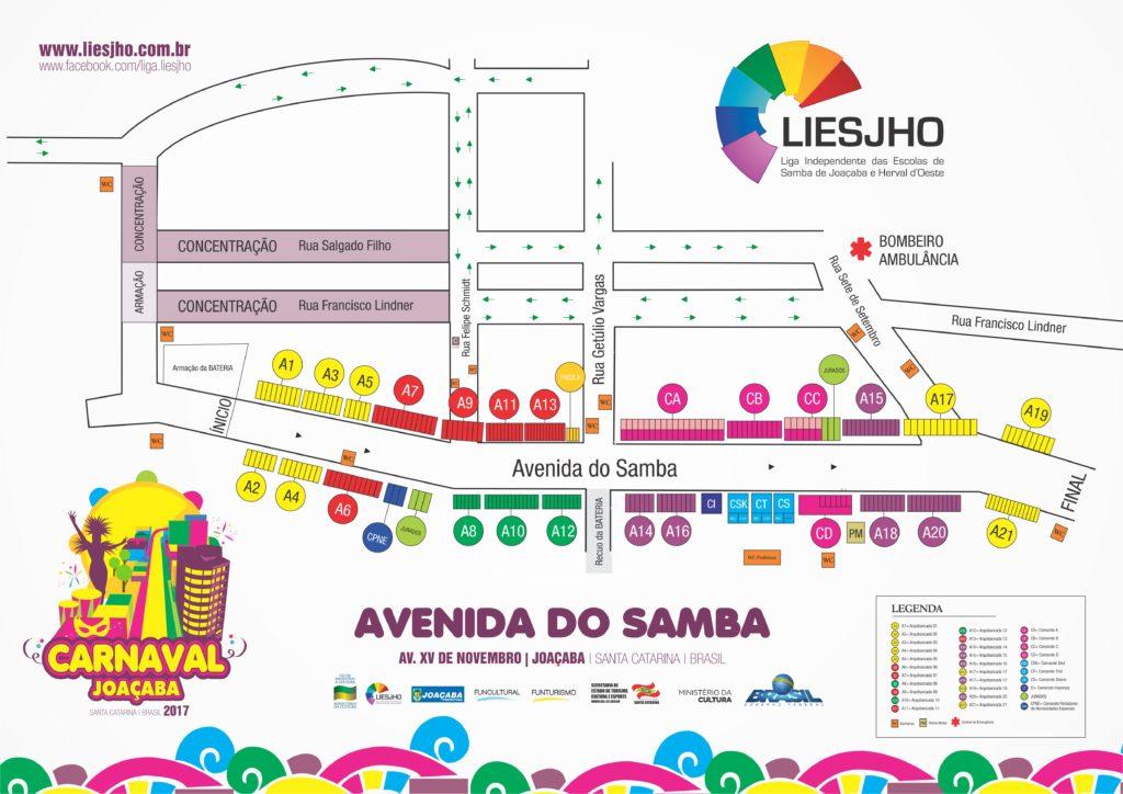 mapa carnaval