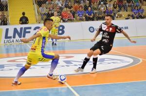 Edson fez o único gol do Joaçaba