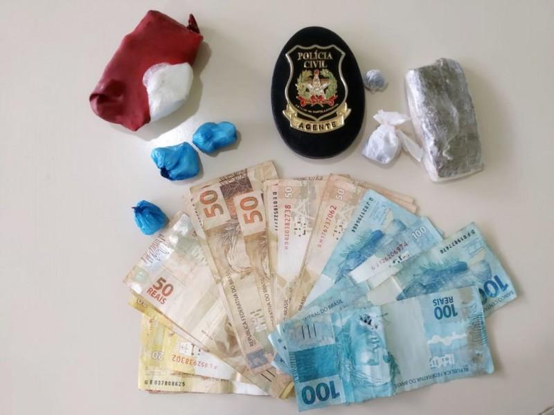 Material encontrado pela polícia