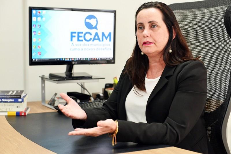 Assessora em políticas públicas da FECAM, Janice Merigo