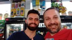 Dieison Rosa foi o ganhador dos 100 litros de combustível do Auto Posto Joaçaba
