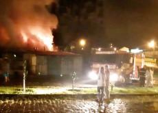 Ninguém estava na residência quando do incêndio
