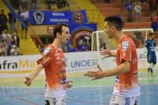 Yan marcou dois dos três gols do Joaçaba