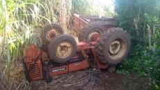 Agricultor morreu no local da ocorrência