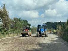 Estrada está em situação precária
